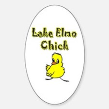Lake Elmo Chick Oval Decal
