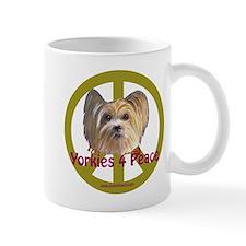 Yorkies 4 Peace Mug
