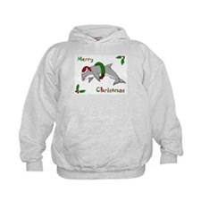 Christmas Dolphin Hoodie