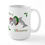 Dolphin Large Mugs (15 oz)