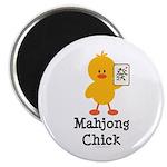 Mahjong Chick Magnet
