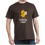 Mahjong Chick Dark T-Shirt