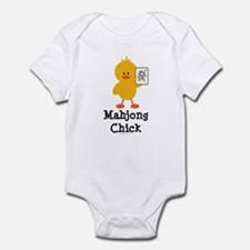 Mahjong Chick Infant Bodysuit