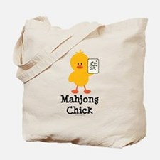 Mahjong Chick Tote Bag