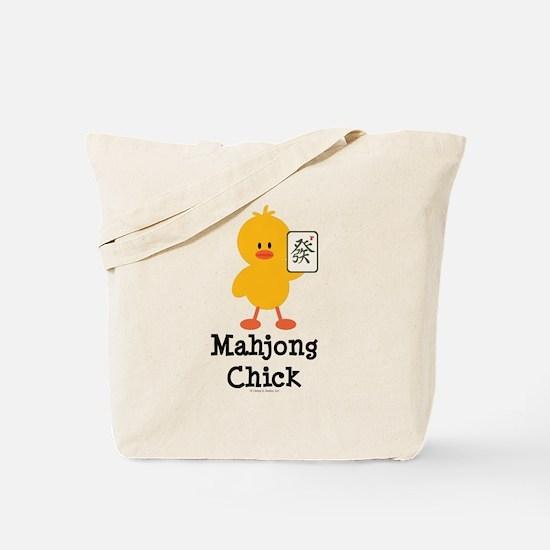 Mahjong Chick Tote Bag