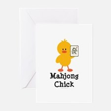 Mahjong Chick Greeting Cards (Pk of 20)