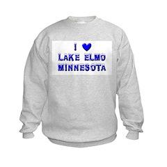 I Love Lake Elmo Winter Sweatshirt