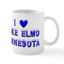 I Love Lake Elmo Winter Mug