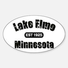 Lake Elmo Established 1925 Oval Decal