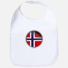 Norway - Heart Bib