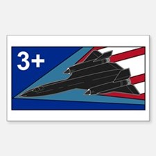 Blackbird 3+ Rectangle Decal