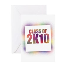 Unique Class 2010 Greeting Card