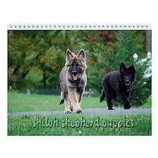 Shiloh Puppy Wall Calendar :2010