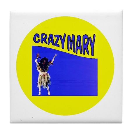 Crazy Mary Tile Coaster