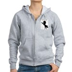 May the horse be with you Women's Zip Hoodie