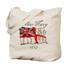 Older Navy Tote Bag