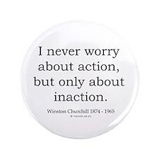 "Winston Churchill 11 3.5"" Button (100 pack)"