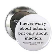 "Winston Churchill 11 2.25"" Button"