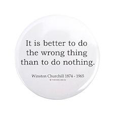 "Winston Churchill 13 3.5"" Button (100 pack)"