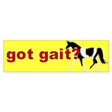Got gait spotted MFT Bumper Bumper Sticker