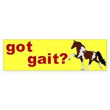 got gait SSH Bumper Bumper Sticker