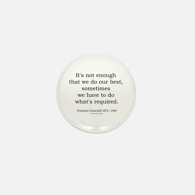 Winston Churchill 14 Mini Button (10 pack)