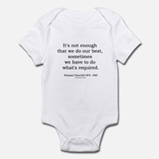 Winston Churchill 14 Infant Bodysuit