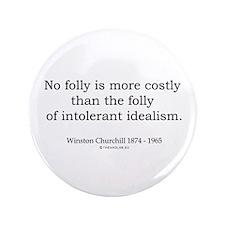 "Winston Churchill 16 3.5"" Button (100 pack)"