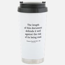 Winston Churchill 18 Travel Mug