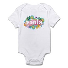 Retro Burst Viola Infant Bodysuit