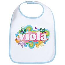 Retro Burst Viola Bib