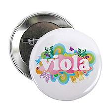 "Retro Burst Viola 2.25"" Button"