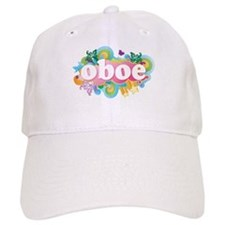 Retro Burst Oboe Baseball Cap