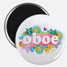 Retro Burst Oboe Magnet