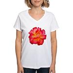 Red Hot Women's V-Neck T-Shirt