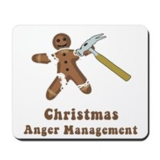 Christmas Anger Management Mousepad