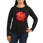 Red Hot Women's Long Sleeve Dark T-Shirt