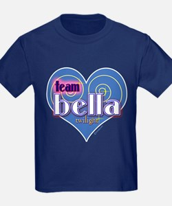 Team Bella Big Blue Heart T