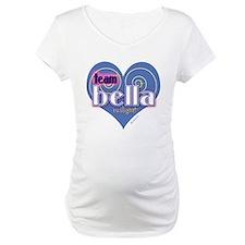 Team Bella Big Blue Heart Shirt
