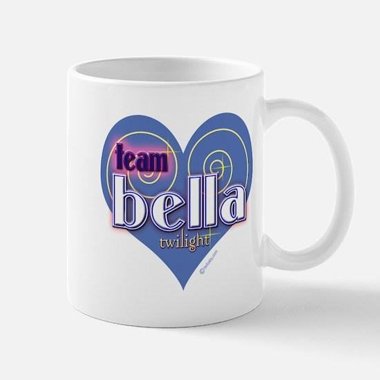 Team Bella Big Blue Heart Mug