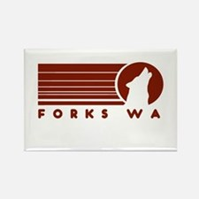 Forks Washington Rectangle Magnet