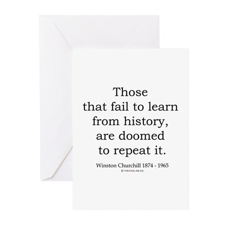 Winston Churchill 20 Greeting Cards (Pk of 20)