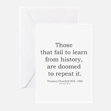 Winston Churchill 20 Greeting Cards (Pk of 10)