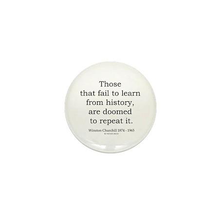 Winston Churchill 20 Mini Button (10 pack)