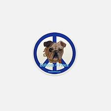 Bulldogs 4 Peace Mini Button