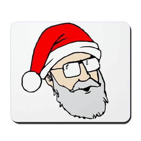 Santa Dan Mousepad