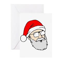 Santa Dan Greeting Cards (Pk of 20)
