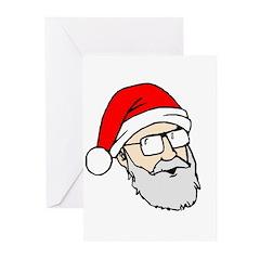 Santa Dan Greeting Cards (Pk of 10)