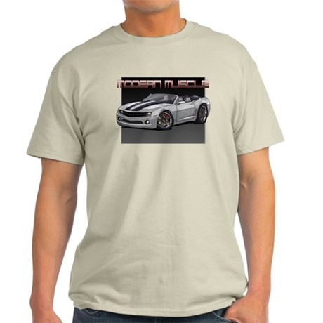 2010 Silver Camaro Light T-Shirt