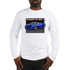 2010 Blue Camaro Long Sleeve T-Shirt